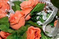 Peach Floral arrangement-3140