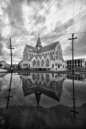 St George's Cathedral Reflection _8041-3_HDR